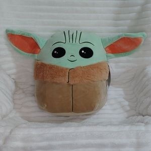 """NWT The Child squishmallow toy/pillow 5"""" …"""